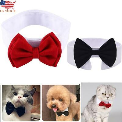 Dogs Cats Gentleman Bow Tie Bowknot Neck Pet Puppy Necktie Party Collar Necklace Dog Bow Tie