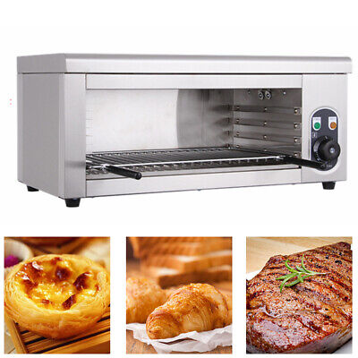 New Cheese Melter Electric Cheesemelter Salamander Broiler Bbq Gril Countertop