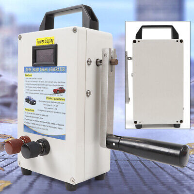 Hand Crank Generator Emergency Power Supply Solar Energy Storage 150w Inverter