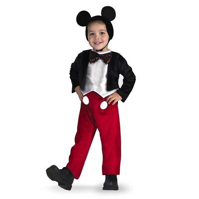 Disney Mickey Mouse Deluxe Kids Costume | Disguise 5027](Disney Kids Costumes)