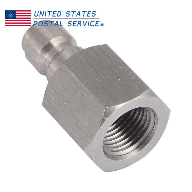 8mm PCP Stainless Steel Male 1/8NPT Quick Release Disconnect Coupler Adapter