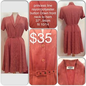 Vintage style dress Goodna Ipswich City Preview