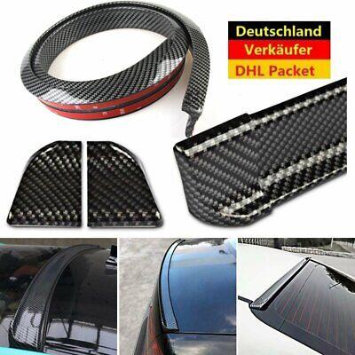 Kofferraumspoiler Heckspoiler Spoiler Lippe Carbon Schwarz für Fahrzeuge DE pf