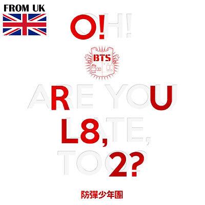 BTS KPOP BANGTAN BOYS 1st Mini Album [O!RUL8,2?] CD+Poster+Photobook+Photocard
