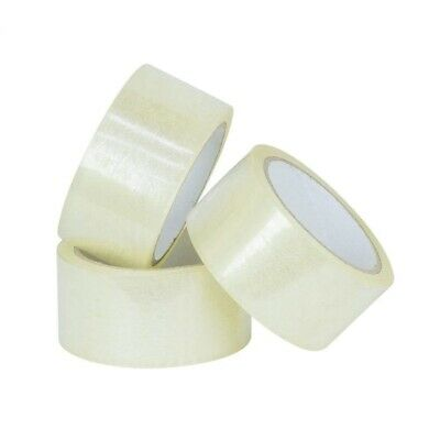 18 Rolls Carton Sealing Clear Packing Tape Box Shipping - 2 mil 2
