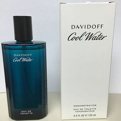 Cool Water Men by Davidoff 4.2 oz / 125 ml EDT Cologne Spray | NEW IN TESTER BOX