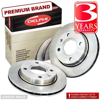 Front Vented Brake Discs Chrysler PT Cruiser 2 Estate 2004-10 136HP 280mm