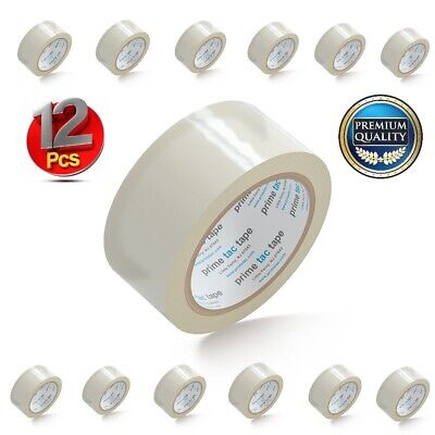 Primetac Packing Tape Refill Clear 1.88 In X 55 Yd Carton Sealing Tape 12 Rolls