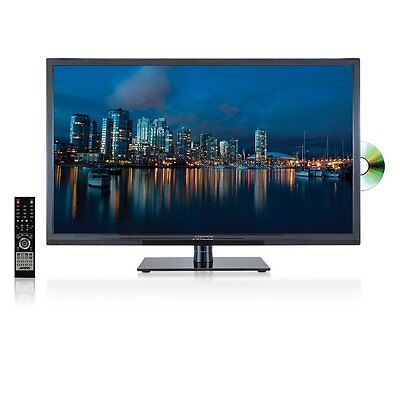 """Axess TVD1801-32 32"""" Digital LED High-Definition TV W DVD Player & Remote NEW"""