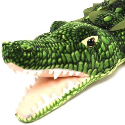 Kuwat the Saltwater Crocodile   5 Foot Big Stuffed Animal Plush Alligator](5 Foot Stuffed Animal)