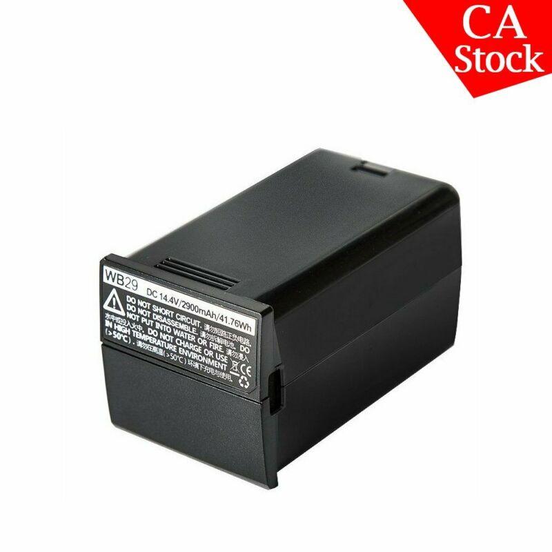 Godox WB29 AD200 Outdoor Pocket Camera Flash Speedlite 2900mAh Li-ion Battery