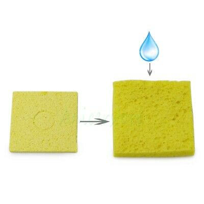 10pcs Thicken Soldering Iron Tip Cleaning Sponge Welding Cleaner Pads 55mm55mm