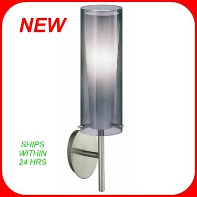 Pinto Nero 1 Light - Eglo 20701A 1-Light Wall Sconce from the Pinto Nero Collection (2-PACK) R2
