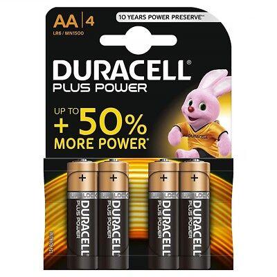 Pack 4 Pilas Original DURACELL AA Modelo MN1500 de 1,5V Alcalina Blister...