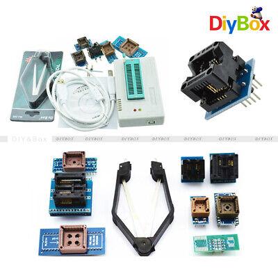 Tl866ii Plus Programmer Tl866 Usb Eprom Eeprom 7 Adapters Socket Extractor Suie