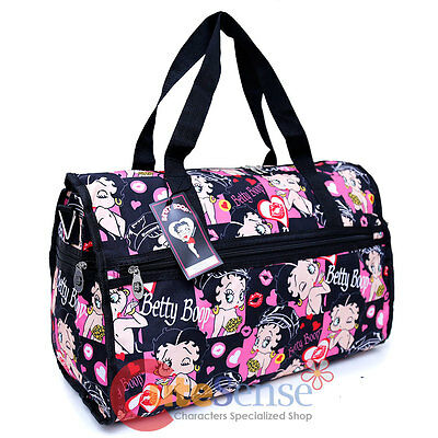 Betty Boop Duffle Bag Travel Bag Diaper Gym Bag - Lovely Kiss