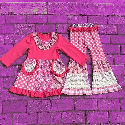 Adorable Toddler And Girls Fall Autumn Outfit Size: 2T, 4T, 5T, 6T, 7T