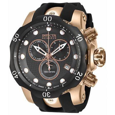 Swiss Made Invicta 16152 Reserve Venom Chronograph Mens Watch + 1-Slot Dive Case
