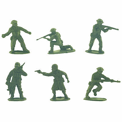 50 Plastic Green Army Men Soldiers - Party / Loot Bag Filler Toys