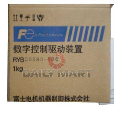 Fuji New Ryb500s3-vbc Gys500dc-c8b 50w Plc Servo Driver Motor 50w