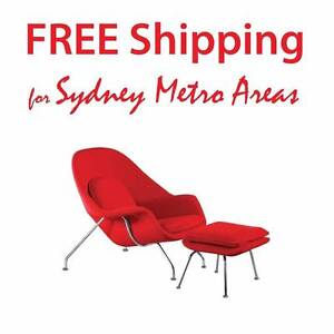 30% OFF- Eero Saarinen Style Womb Chair & Ottoman Zetland Inner Sydney Preview