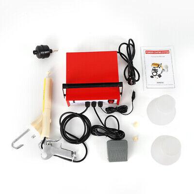 Portable Powder Coating System Paint Spray Gun Coat Pc03-2 25ns 10-15psi Hot