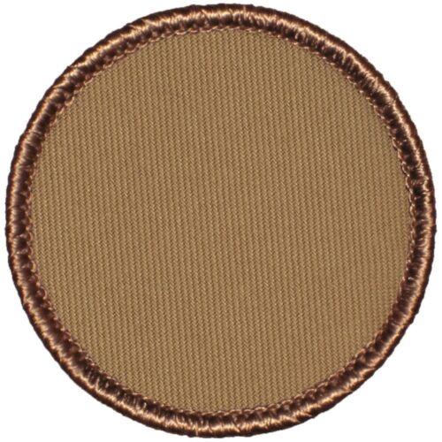 "2"" Diameter Round - (999) Blank Boy Scout Patrol Patches"