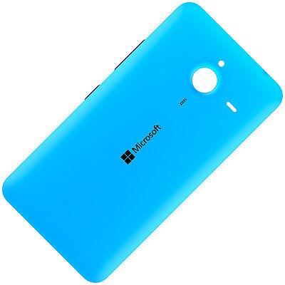 Microsoft Lumia 640 XL Dual SIM Original Akkudeckel Back Cover Gehäuse Cyan...