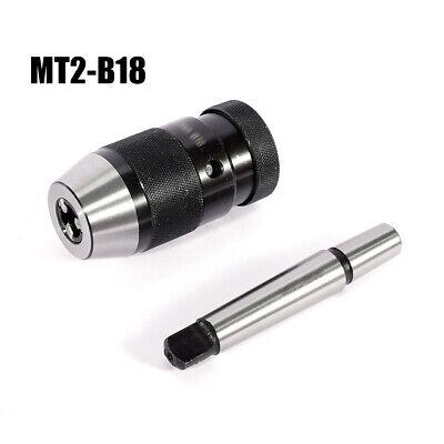 B18 1-16mm Self Tighten Keyless Drill Chuck Arbormt2-b18 Arbor For Lathe Drill
