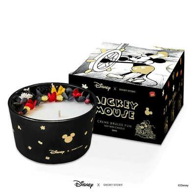 Disney x Short Story Candle - Steamboat Mickey - Creme Brulee - 40 HOURS BURN