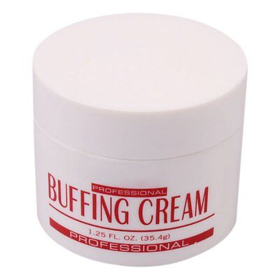 New Pink Professional Nail Art Care Buffing Cream Manicure Good AD ()