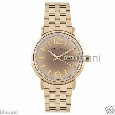 Marc by Marc Jacobs Original MBM3429 Fergus Women's Gold Stainless Steel Watch