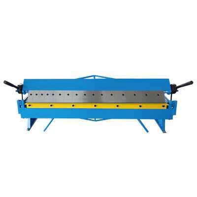 48 Box And Pan Brake 16 Gauge Bender Sheet Metal Bending Machine