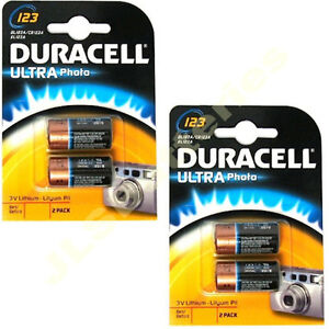 4-x-DURACELL-LITHIUM-123-CR123A-DL123-Photo-Batteries