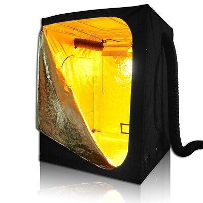 LAGarden™ 60x60x78 100% Reflective Mylar Hydroponic Grow Tent Non Toxic Room Hut