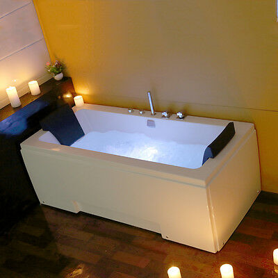 1700MM Whirlpool Jacuzzi Massage Corner Shower Spa 2 person Bathtub MODEL: 5170M
