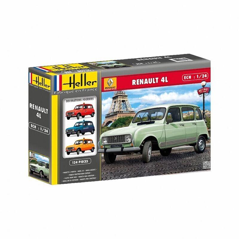 (HEL80759) - Heller 1:24 - Renault 4L