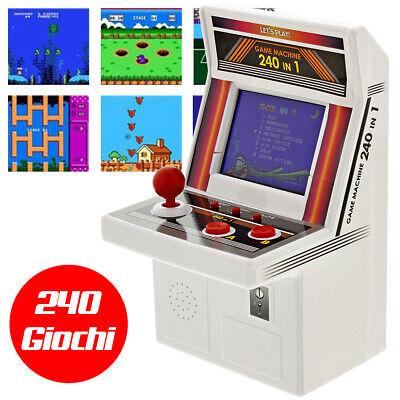 Videogioco Arcade Game Box 240 in 1 Console Videogiochi Portatile Giochi Retro
