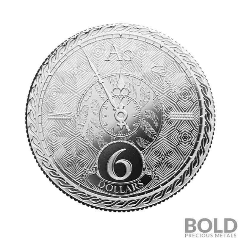 2020 Tokelau Chronos 1 oz Silver BU