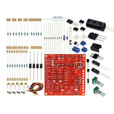 Dc Regulated Power Supply Diy Kit 2ma-3a 0-30v Protection Limiting Current