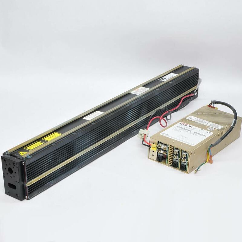 Synrad J48-2 CO2 Laser 25W @ 10.6um with Power Supply from VideoJet Coder