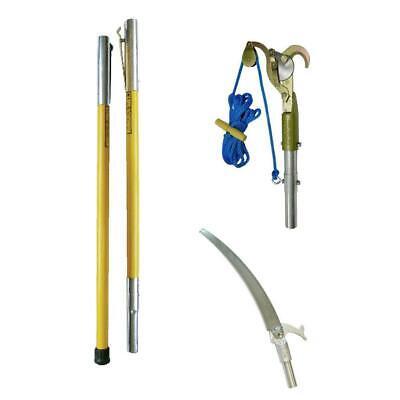 Jameson Fiberglass Pruner Pole System FG Series 3 to 21 ft Hollow Core Pole Set