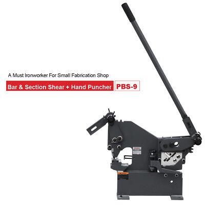 Kaka Industrial Pbs-9 Cutting Punching Bar Section Shear Manual Ironworker
