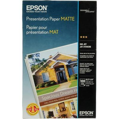 11x17 Presentation Paper - Epson Matte 11x17 Presentation Photo Paper - 100 Sheets