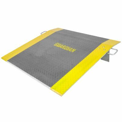 48 X 48 Guardian Aluminum Loading Dock Plate 3800lb Capacity