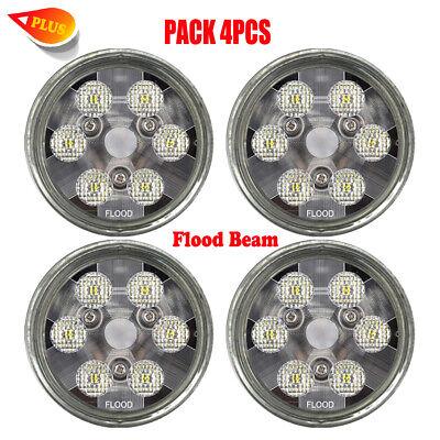 30w Flood Beam Par36 Led Headlights For John Deere 7020752086308640 X4pcs