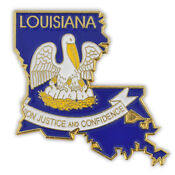 Louisiana State Pin