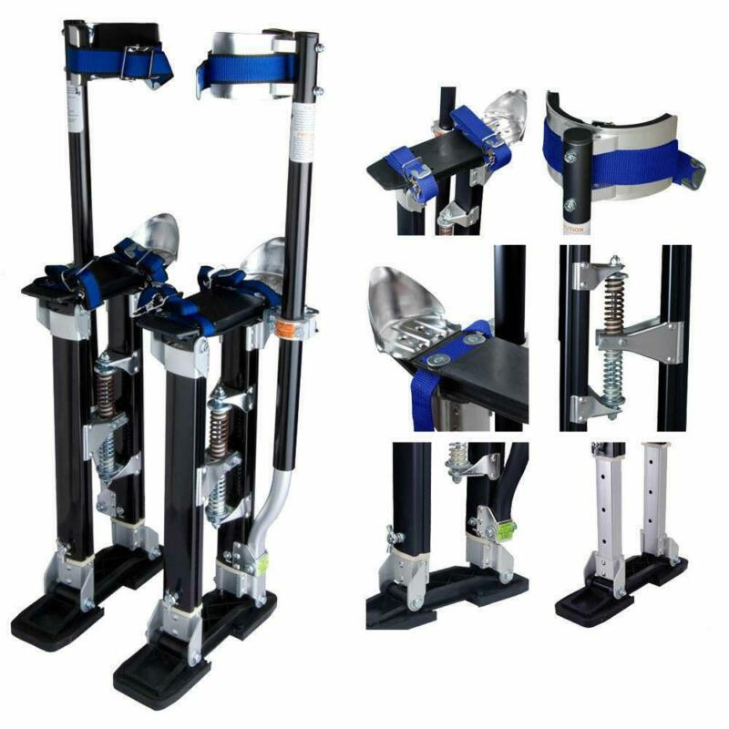 "NEW Drywall Stilts Painters Walking Taping Finishing Tools Adjustable 24"" - 40"""