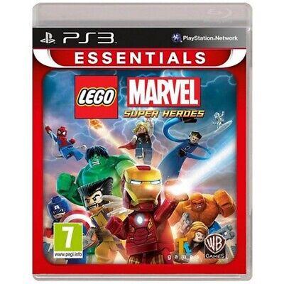 Lego Marvel Super Heroes Game PS3 (Essentials)