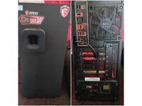 "Gaming PC i7-7700k 32GB DDR4 GTX 1060 6GB 250GB M.2 1TB SSD 1TB HDD 32"" Acer UHD Monitor Cost £2150"